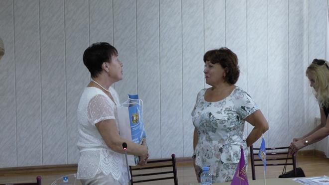 семинар для профактива Профсоюза работников культуры ДНР в Анапе